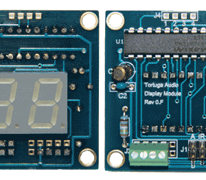 DM1 Display Module - Front and Rear Views