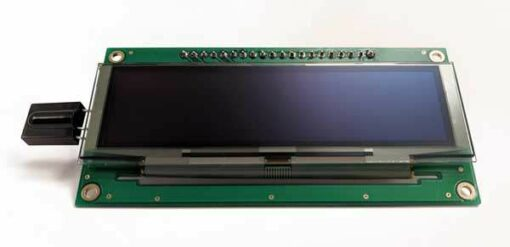 OLED display module - front view