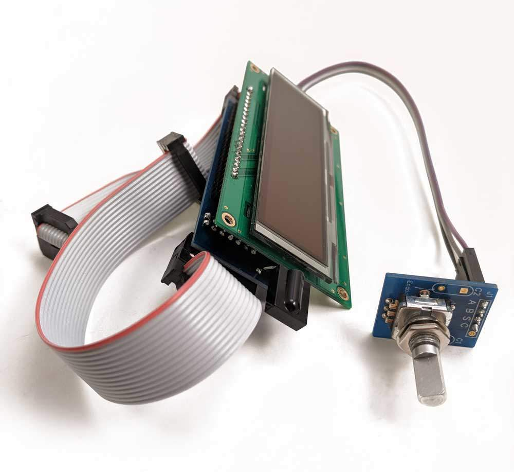 OLED display module - with cables