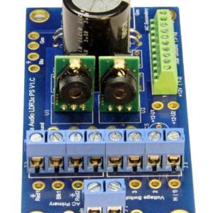 LDR3x power supply - front view