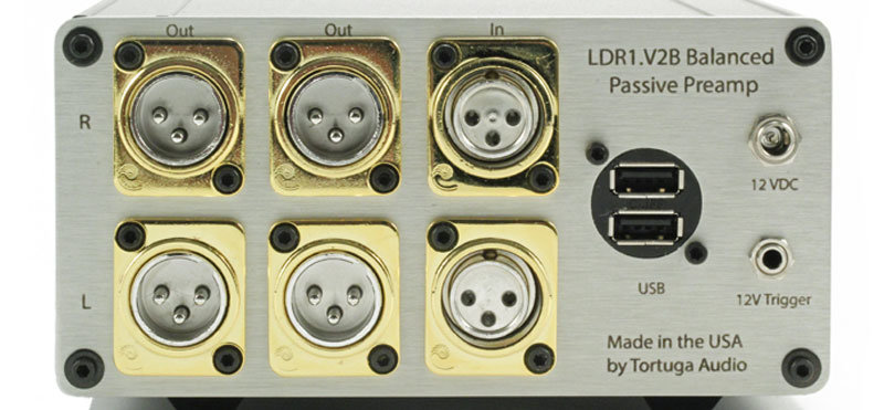 LDR1B.V2 balanced passive preamp