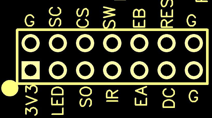 ePot.V3 OLED header pin labels