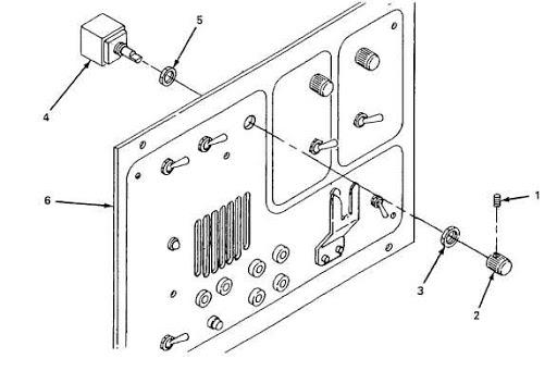 potentiometer panel mounting